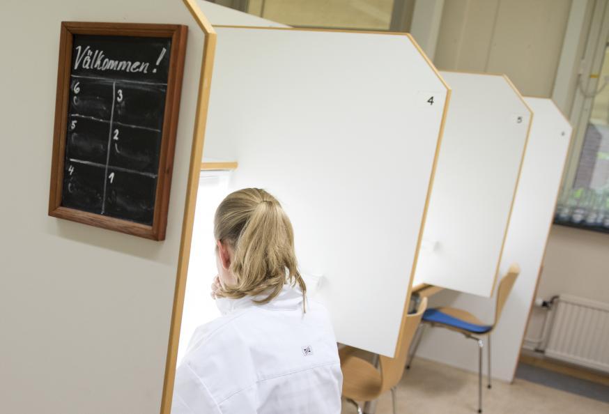 De sensoriska analyserna genomförs vid SP food & Bioscience i Göteborg, som har lång erfarenhet av livsmedelsprovning. Foto: Anna Sigge