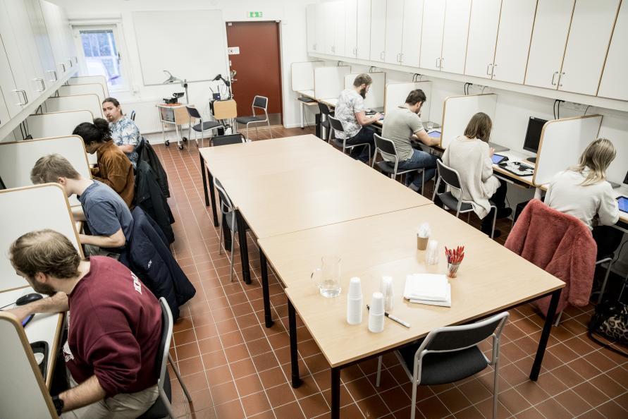 Provningen genomförs av 20 kockelever som blir serverade samtliga prover i en slumpmässig ordning. Foto: Pavel Koubek