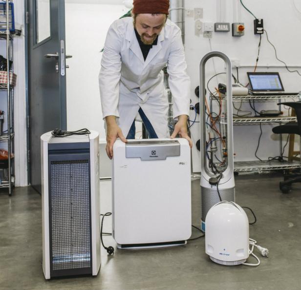 luftrenare ozon test
