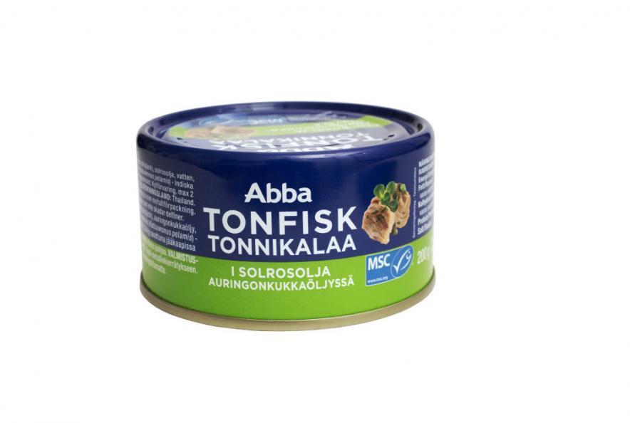 Ny tonfisk i abbas burkar