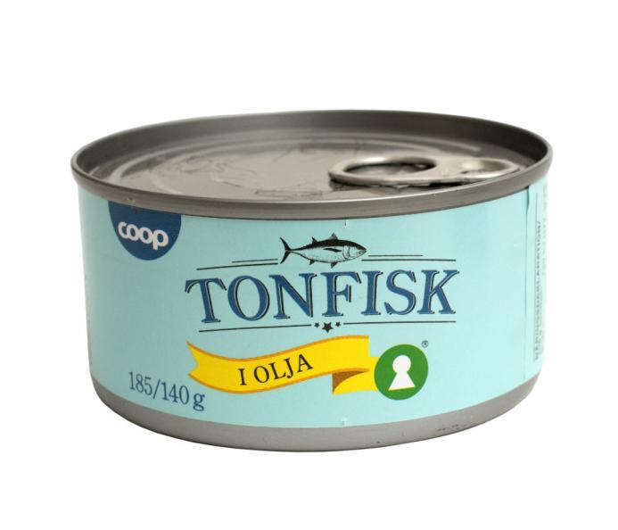 Testfakta Tonfisk Coop