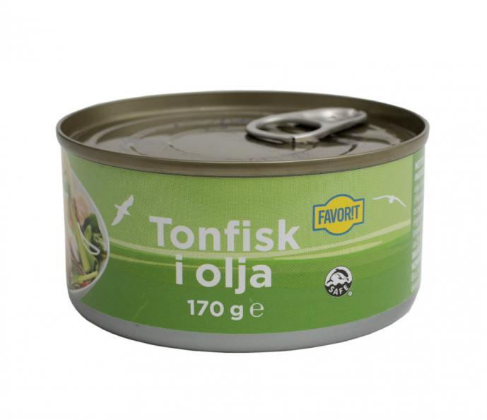 Testfakta Tonfisk Favorit