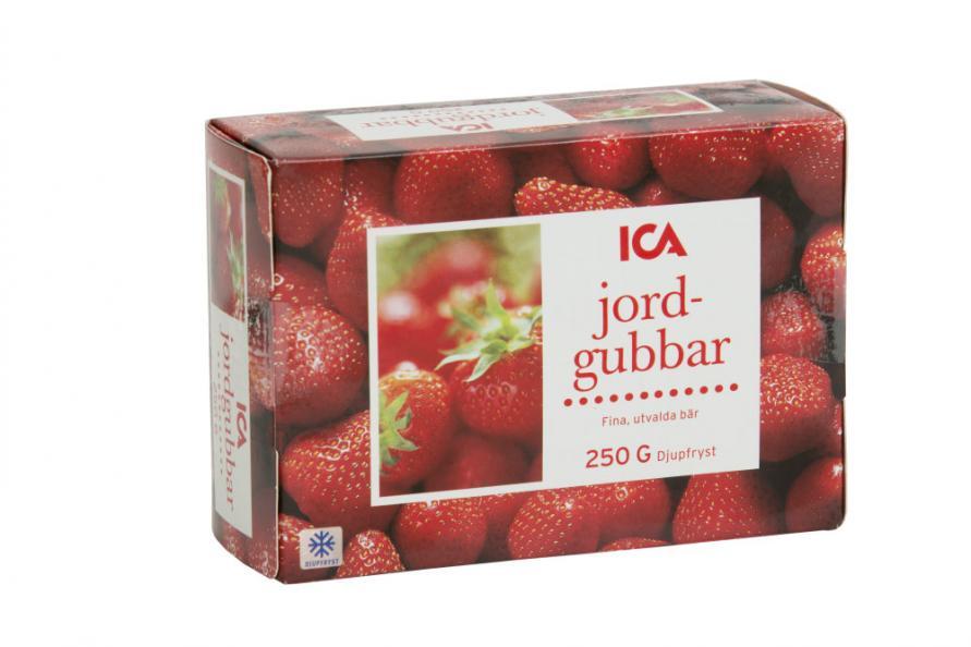 Testfakta jordgubbar Ica