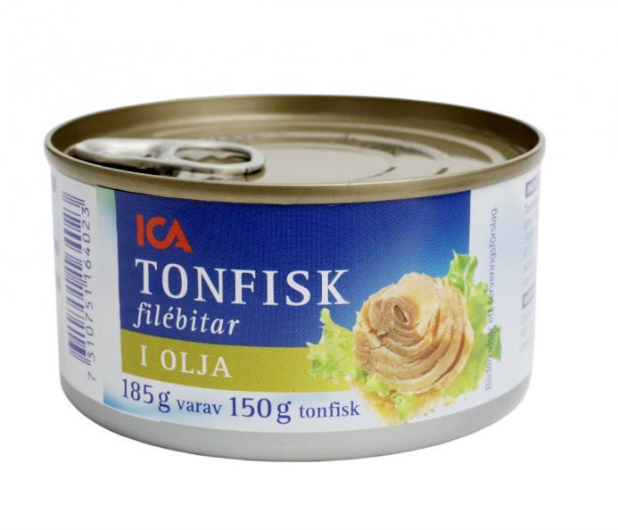 tonfisk i burk