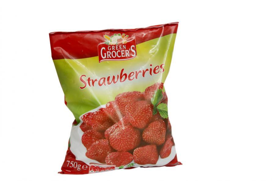 Testfakta jordgubbar Green Grocer's