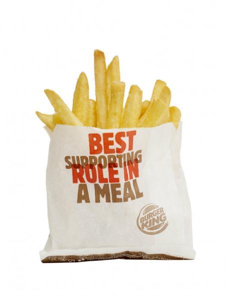 Testfakta Popcorn och pommes Burger King