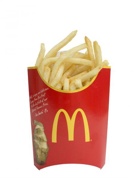 Testfakta Popcorn och pommes McDonalds