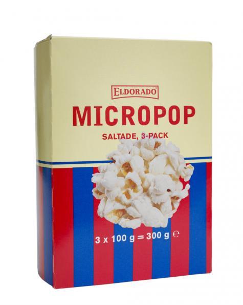 Testfakta Popcorn och pommes Eldorado