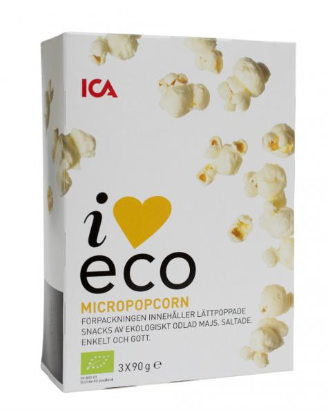 Testfakta Popcorn och pommes Ica
