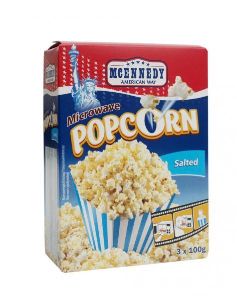 Testfakta Popcorn och pommes McEnnedy