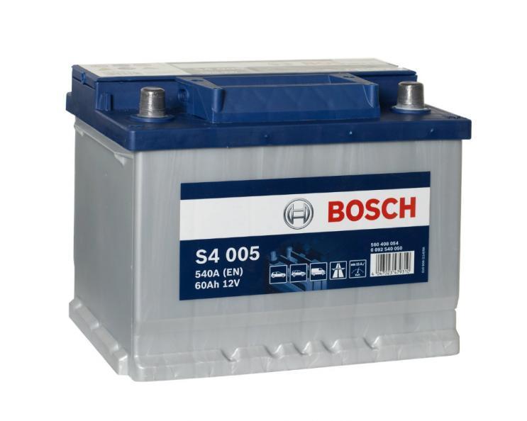 Testfakta Bilbatterier Bosch