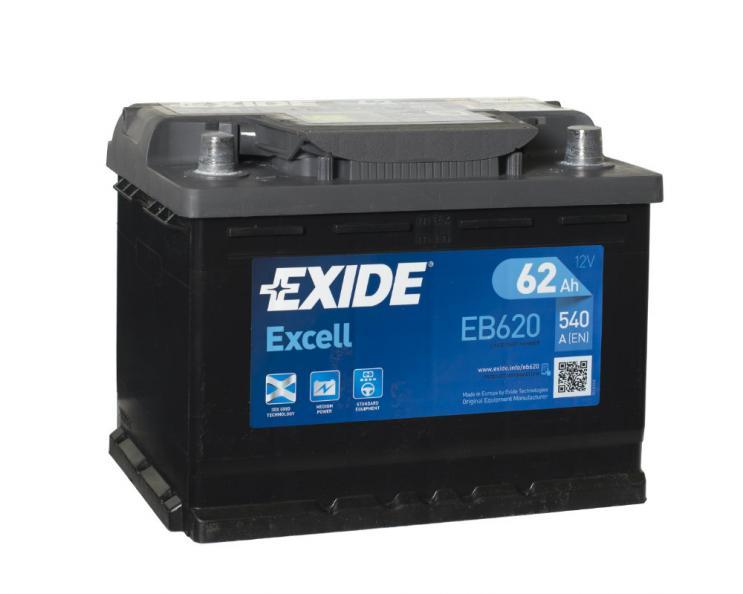 Testfakta Bilbatterier Exide