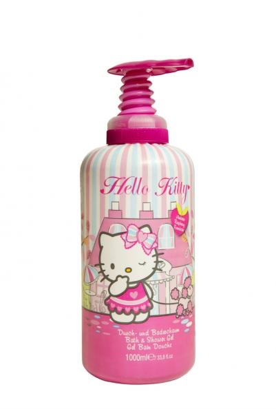 Testfakta bad och dusch Hello Kitty.