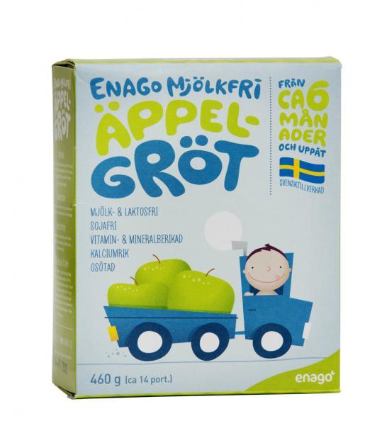Testfakta testar barngröt Enago.