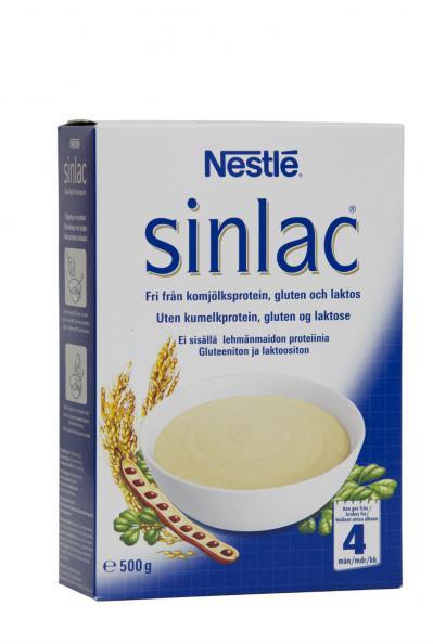 sinlac mjölkfri gröt