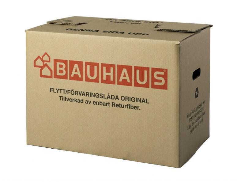 Testfakta Flyttkartong Bauhaus