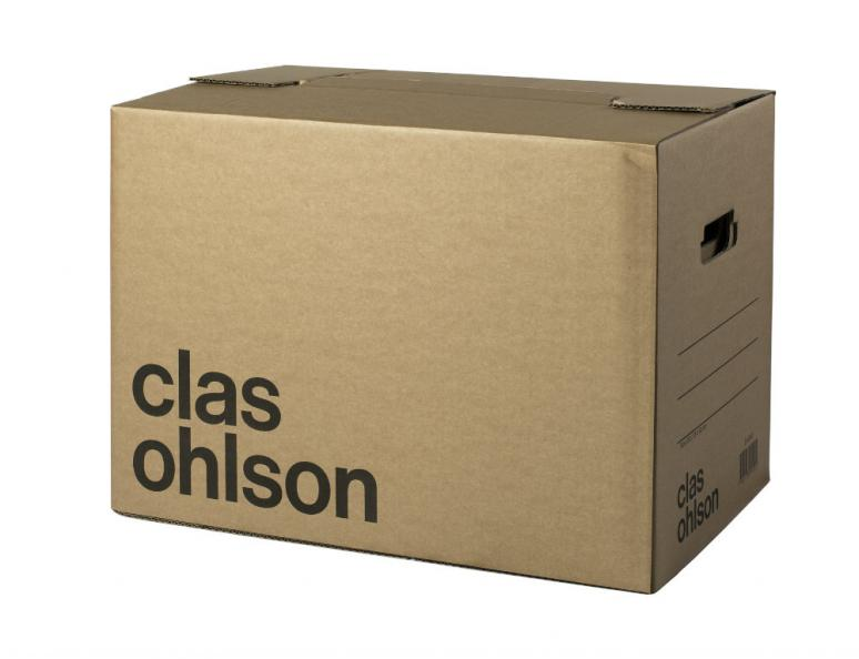 Testfakta Flyttkartong Clas Ohlson