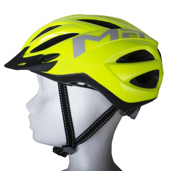Testfakta test cykelhjälmar - MET.