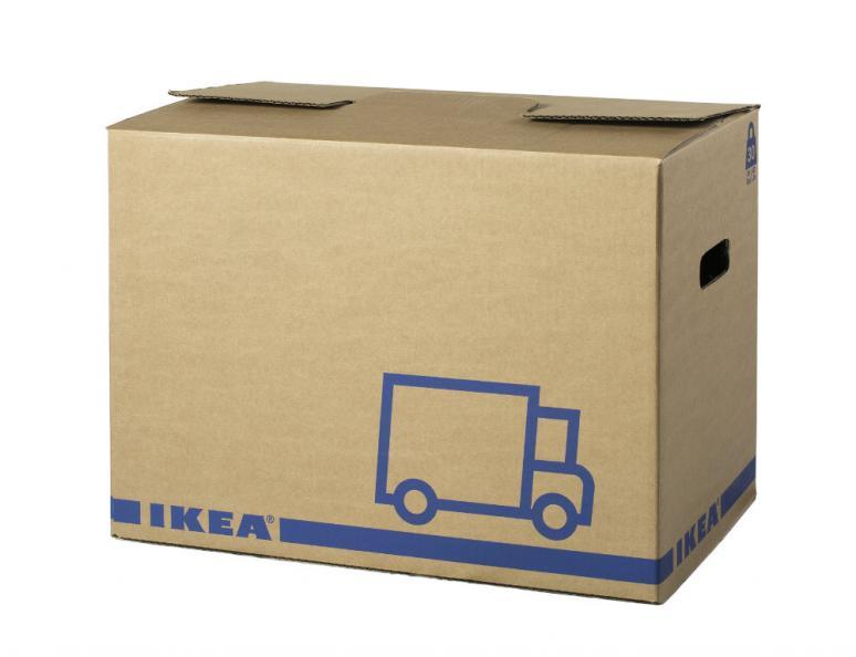 Testfakta Flyttkartong Ikea