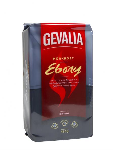 Testfakta test kaffe - Gevalia Ebony.