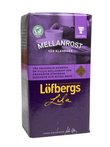 Testfakta test kaffe - Löfbergs lila.