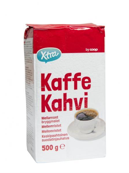 Testfakta test kaffe - Coop Xtra.