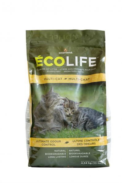 Testfakta kattsand EcoLife.