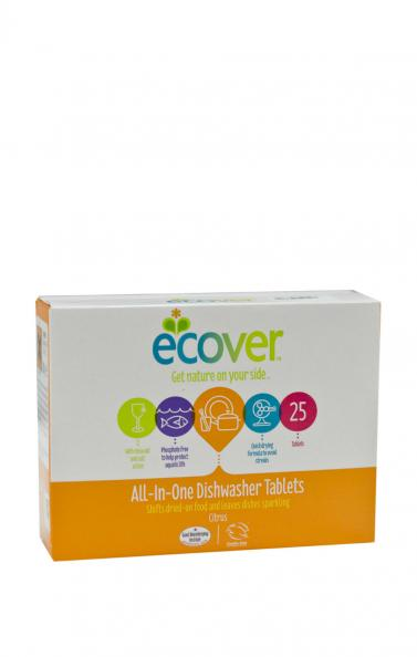 Testfakta test maskindiskmedel - Ecover.