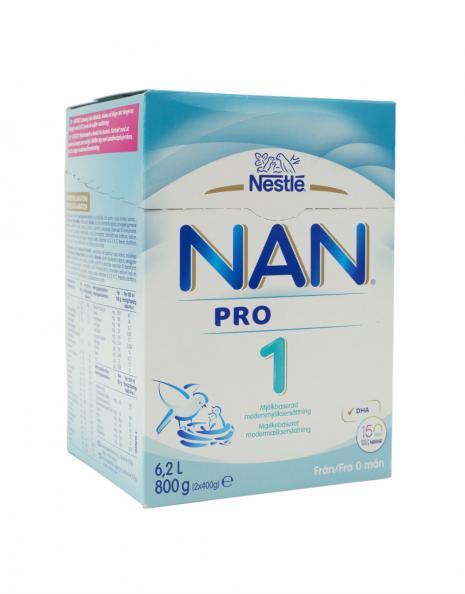 Testfakta test modersmjölksersättning Nestlé.