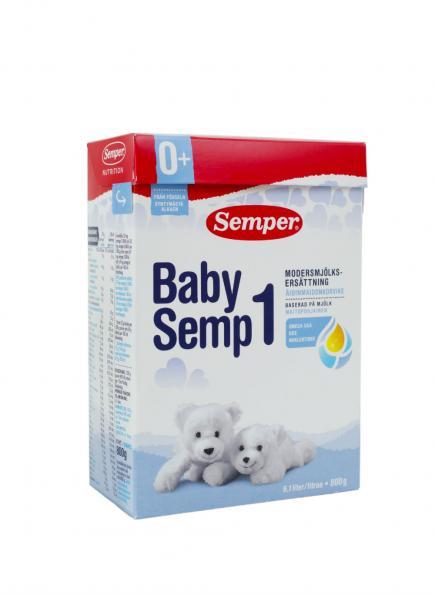 Testfakta test modersmjölksersättning Semper.