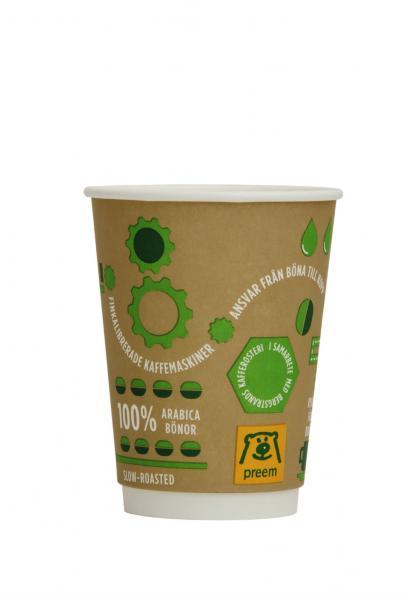 Testfakta testar take-away-kaffe Preem.