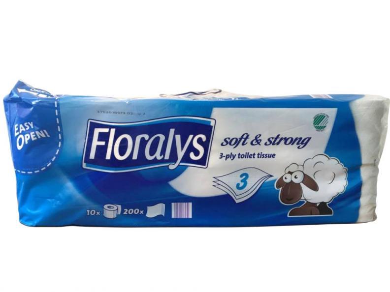 Testfakta testar toapapper Floralys.