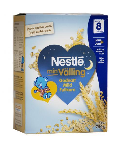 Testfakta testar välling Nestlé.