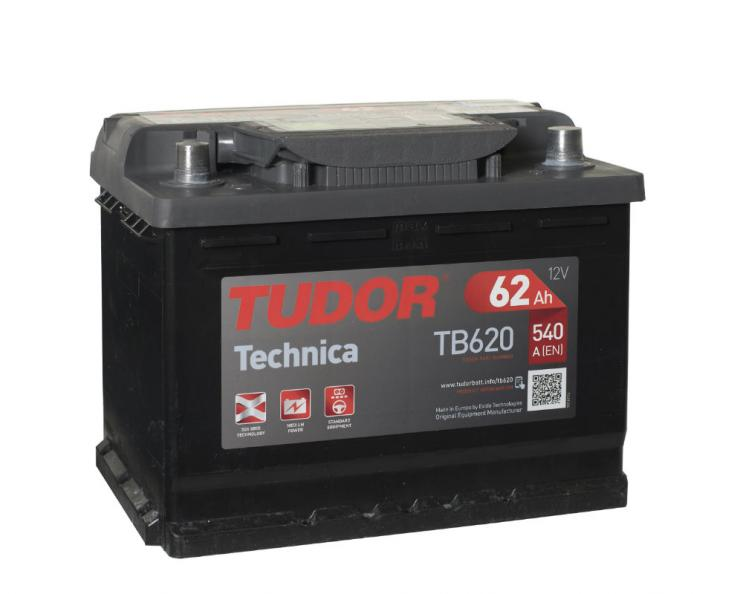 Testfakta Bilbatterier Tudor