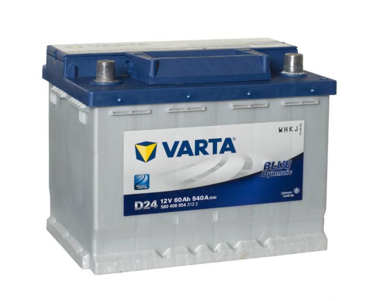 Testfakta Bilbatterier Varta