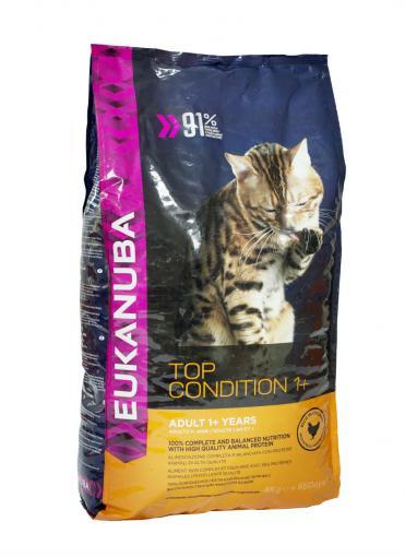 torrfoder katt hög kötthalt